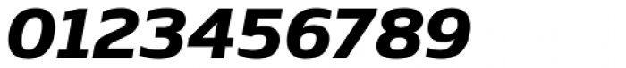 Nauman ExtraBold Italic Font OTHER CHARS