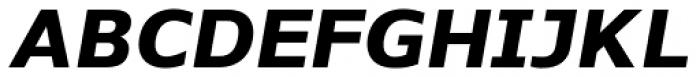 Nauman ExtraBold Italic Font UPPERCASE