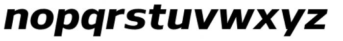 Nauman ExtraBold Italic Font LOWERCASE