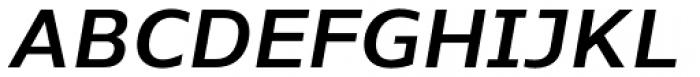Nauman SemiBold Italic Font UPPERCASE