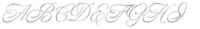 Nautica Sottile Font UPPERCASE