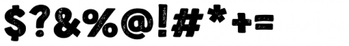 Nauticus Sans Press Bold Font OTHER CHARS