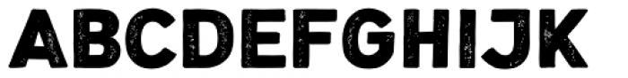 Nauticus Sans Press Bold Font UPPERCASE