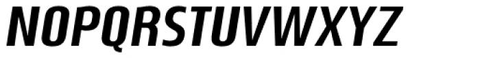 Nautikka Bold Italic Font UPPERCASE