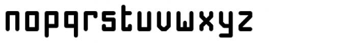 Nautilo Bold Font LOWERCASE