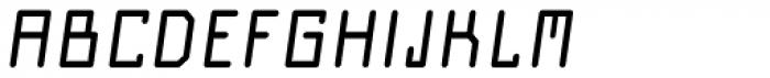 Nautilo Oblique Font UPPERCASE