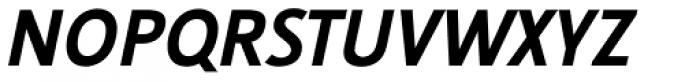 Nautilus Monoline Pro Bold Italic Font UPPERCASE