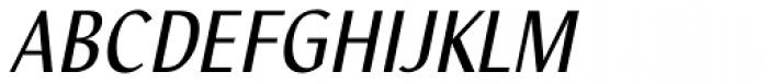 Nautilus Text Pro Italic Font UPPERCASE