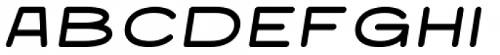 Nautis Round Italic Font UPPERCASE