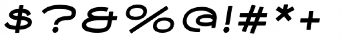 Nautis Rounded Italic Font OTHER CHARS