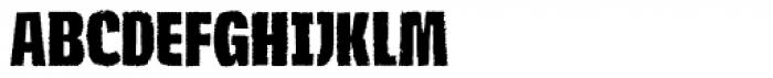 Navaja Bold Font UPPERCASE