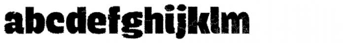 Navaja ExtraBold Font LOWERCASE