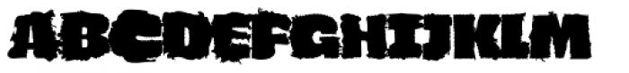 Navaja Fat Font UPPERCASE