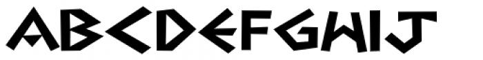 Navarone Font UPPERCASE
