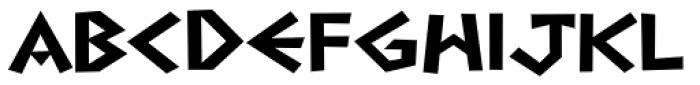 Navarone Font LOWERCASE