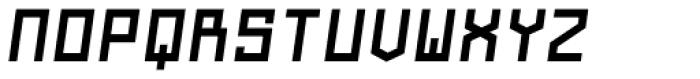 Navtilo Bold Oblique Font UPPERCASE