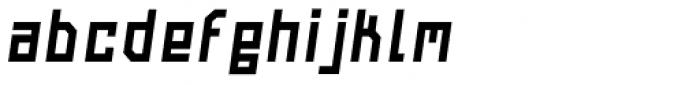 Navtilo Bold Oblique Font LOWERCASE