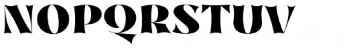 Nazare Exuberant Heavy Font UPPERCASE