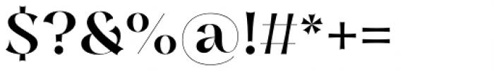 Nazare Exuberant Medium Font OTHER CHARS