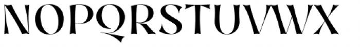 Nazare Exuberant Medium Font UPPERCASE