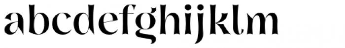 Nazare Exuberant Medium Font LOWERCASE