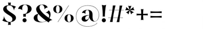 Nazare Exuberant Semi Bold Font OTHER CHARS