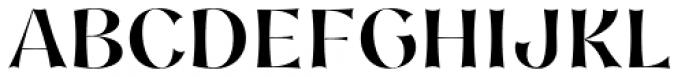 Nazare Exuberant Semi Bold Font UPPERCASE