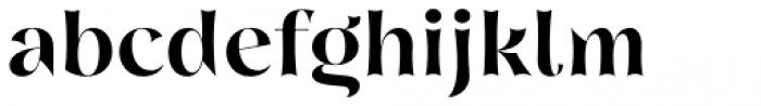 Nazare Exuberant Semi Bold Font LOWERCASE