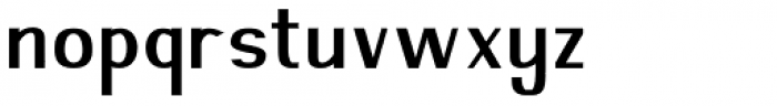 Nazgul Regular Font LOWERCASE
