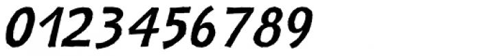 Nazhdak Italic Font OTHER CHARS