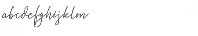 Natron Font LOWERCASE