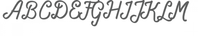 Navara Font UPPERCASE