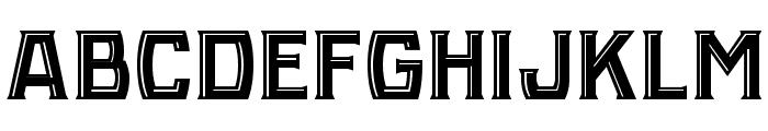 NBA Hawks Highlight Factory Font UPPERCASE
