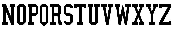 NBA Nuggets Font LOWERCASE