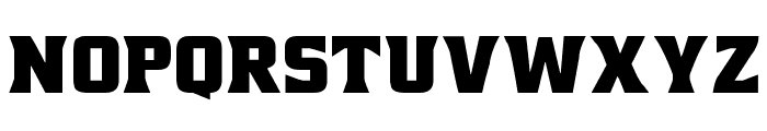 NCAA Cal Poly Mustangs Font LOWERCASE