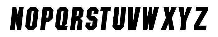 NCAA Colorado Buffs Boulder Bold Font UPPERCASE