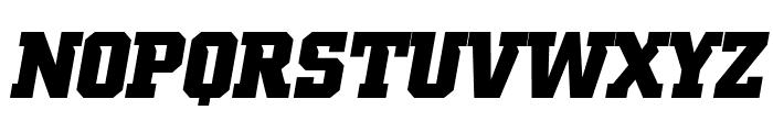 NCAA Iowa Hawkeyes 2017 Italic BoldItalic Font UPPERCASE