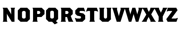 NCAA Marquette Bold Bold Font LOWERCASE