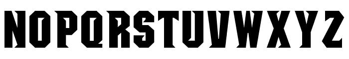 NCAA Seton Hall Pirates Bold Font UPPERCASE