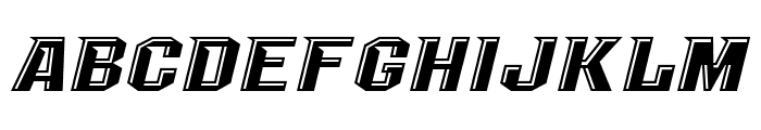 NCAA UCF Knights Undefined Font LOWERCASE