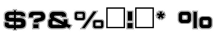 NCCINLINE Regular Font OTHER CHARS