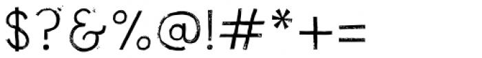 NCO Potatoe Rough Regular Font OTHER CHARS