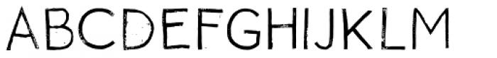 NCO Potatoe Rough Regular Font LOWERCASE