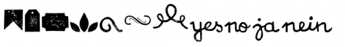 NCO Potatoe Symbols Font UPPERCASE