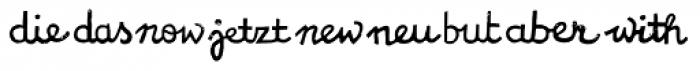 NCO Potatoe Symbols Font LOWERCASE