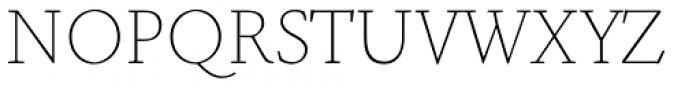 NCT Granite SC Thin Font UPPERCASE