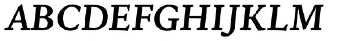 NCT Granite Semibold Italic Font UPPERCASE
