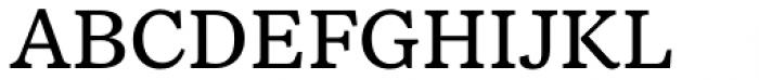 NCT Larkspur Regular Font UPPERCASE