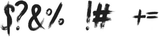 Ndugal Society otf (400) Font OTHER CHARS