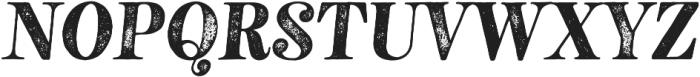 Neato Serif Rough otf (400) Font UPPERCASE